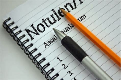 Notulen Rapat Sekolah by 5 Contoh Notulen Rapat Kantor Sekolah Osis Diskusi Dan