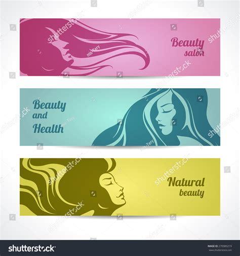 design banner spa vector set beauty salon cosmetics spa stock vector