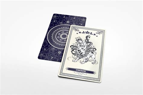 tarot card template psd tarot card mockup graphicriver products mockup