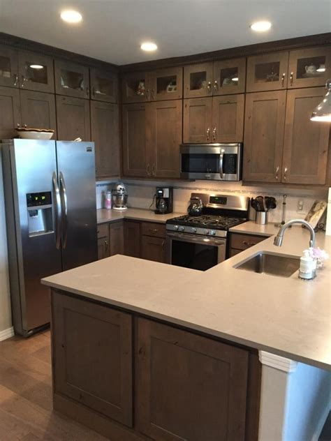 42 inch cabinets 8 foot ceiling 42 inch wide cabinets should kitchen cabinets go to the