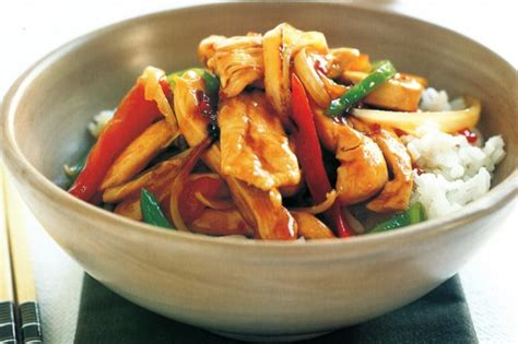 Todays Special Stir Fried Peking With Peppers And Green Beans by Chicken Stir Fry Abbie Ogunsanya