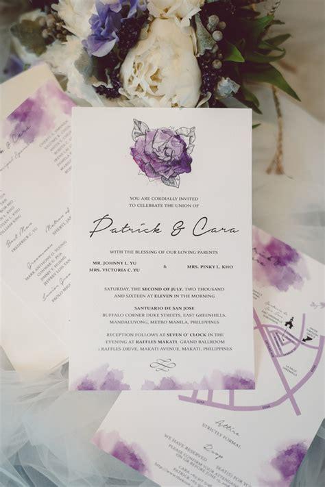wedding missalette layout bride and breakfast philippines wedding blog