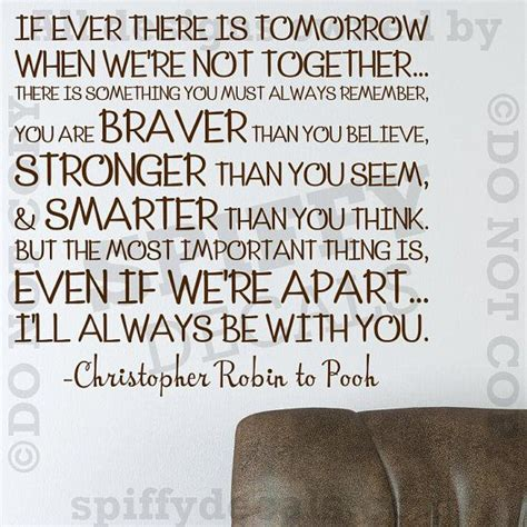 christopher robin quotes winnie the pooh christopher robin quote wall decal
