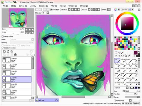 paint tool sai app free alternatives to adobe creative cloud
