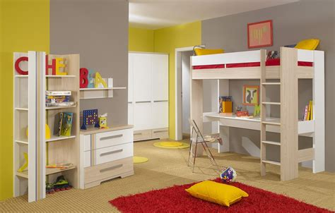 How Much Is A Bunk Bed Set The Bedroom With The Bunk Bed With Desk To Save Space Midcityeast
