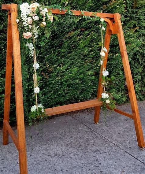 is swinging good for a marriage wedding swing flower swing hire melbourne
