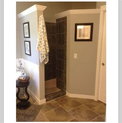 Shower Doors For Walk In Showers Walk In Shower No Door