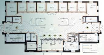 floor plan of bank design pictureicon