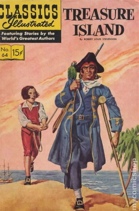 treasure island centaur classics classics illustrated comic books issue 6
