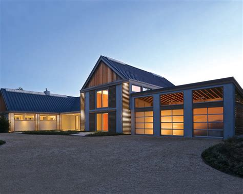 Home Decor Houzz by Sagaponack Modern Barn Modern Exterior New York By