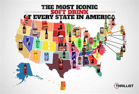the iconic soft drink of every state in america huffpost