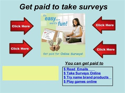 Surveys You Get Paid To Do - get paid to take survey