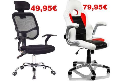 chollo comprar sillas ordenador baratas desde
