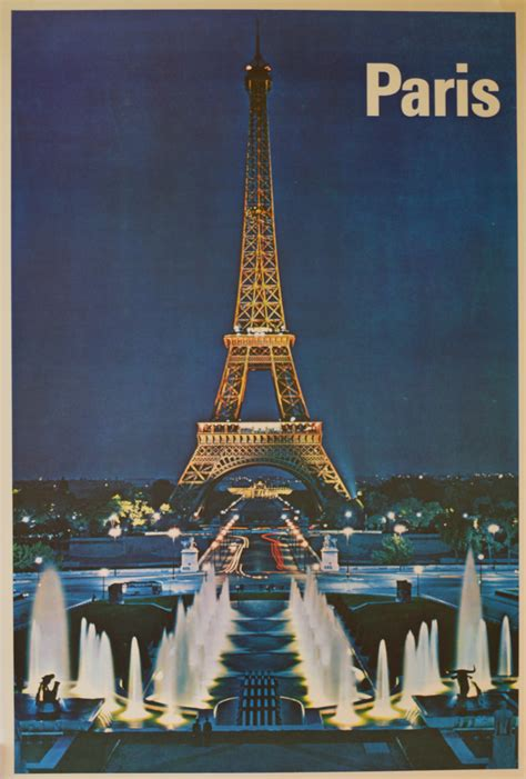 Eiffel Tower Poster eiffel tower indian river poster company