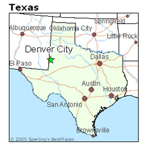 denver city texas map best places to live in denver city texas