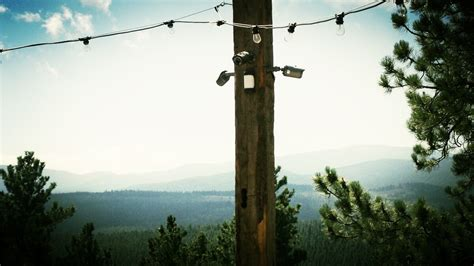 backyard surveillance surveillance system with outdoor pir motion detection