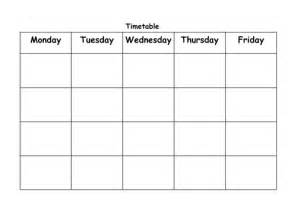timetable templates for teachers blank timetable template by ahamillbws teaching