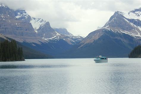 boat cruise jasper boat cruise of maligne lake in jasper national park