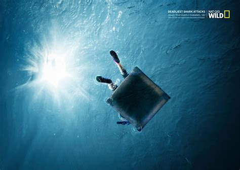 National Geographic Also Search For National Geographic Print Advert By Ireland Davenport Deadliest Shark Attacks 3