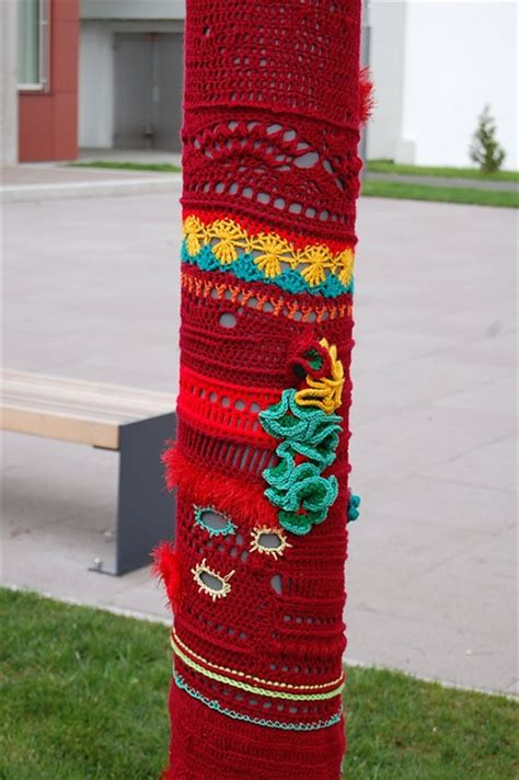 guerilla knitting 17 best images about knitting on