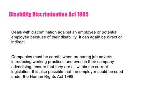 legislation in the workplace