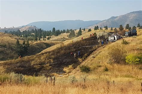 western bench west bench wildfire dealt with quickly bc local news