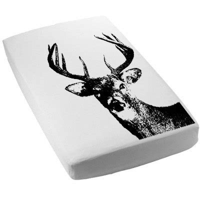 Deer Crib Sheet by Deer Fitted Crib Sheet Or Toddler Bed Sheet Screen Printed Whitetail Deer Buck Toddler