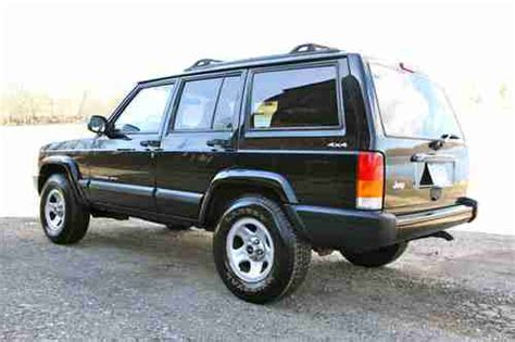 old car repair manuals 2001 jeep cherokee seat position control sell used 2001 jeep cherokee classic sport utility 4 door 4 0l 5 speed maunual in wethersfield