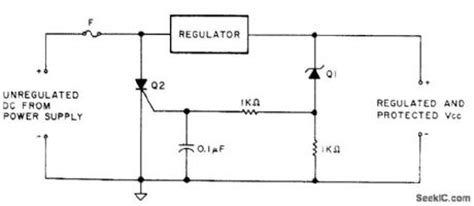 lm7812 protection diode index 3 protection circuit circuit circuit diagram seekic
