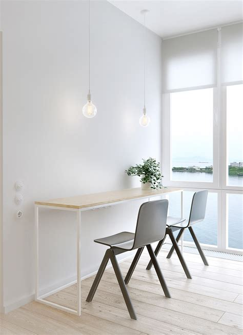 minimalist apartment   family