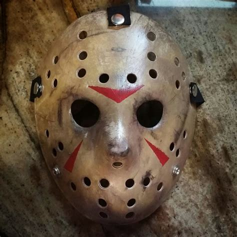 How To Make A Jason Mask Out Of Paper - friday the 13th part 3 jason mask replica