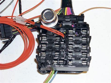 Fuse Box Diagram Firebird Classifieds Amp Forums 1967