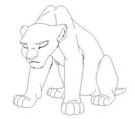 lion king base 9 namacub95 deviantart