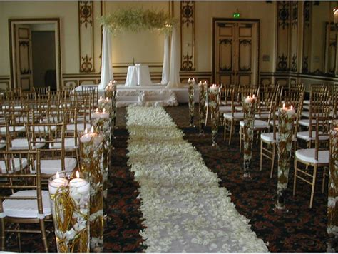 Wedding Ceremony Decorations by Coordination Wedrose Wedding Decor Segment 6 The Ceremony
