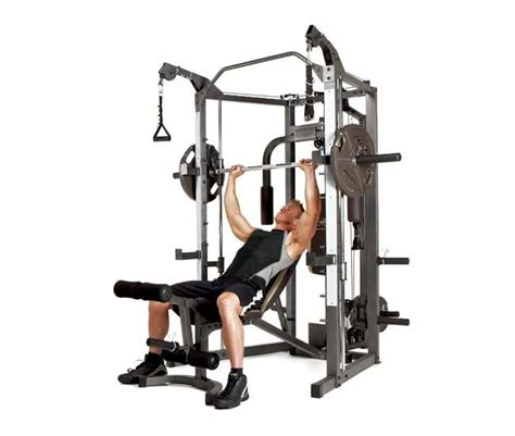 marcy combo smith strength home machine sm 4008
