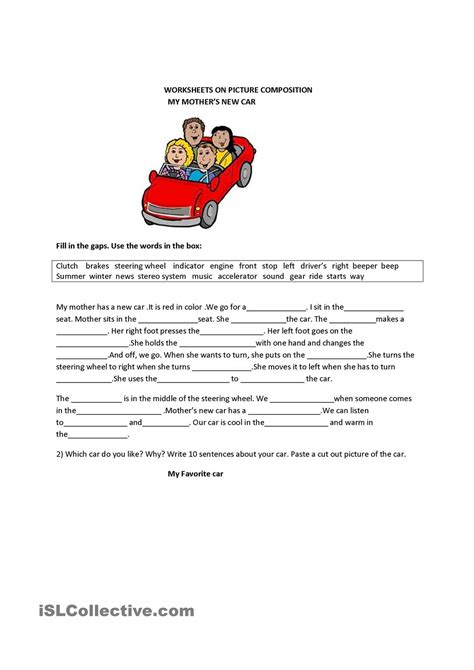 Grade 7 Letter Writing Composition Writing Skill Picture Composition Grade 3 Creative Writing Picture Composition Worksheets And