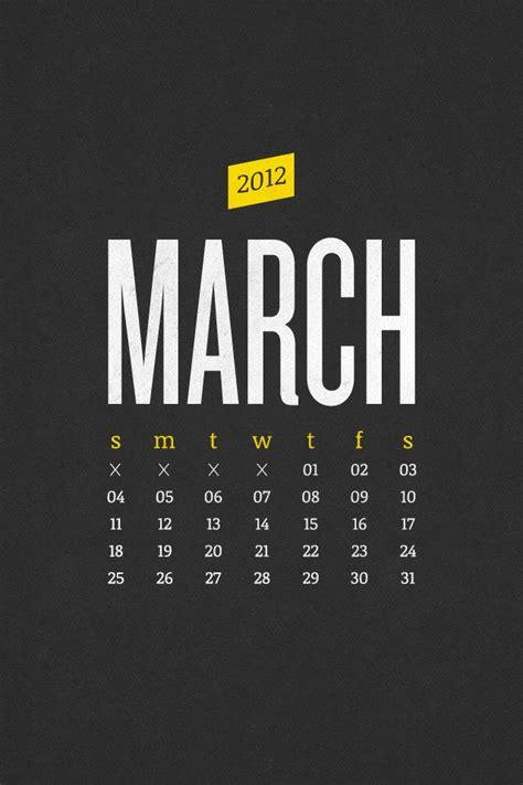 graphic design calendar wallpaper march 2012 desktop calendar wallpaper paper leaf design