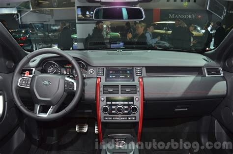 land rover discovery dashboard land rover discovery sport hse dynamic iaa 2015 live