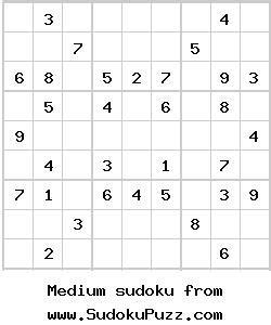free printable variety sudoku printable easy sudoku february 2013