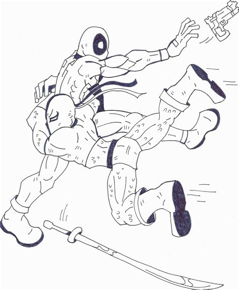 deathstroke coloring pages deathstroke coloring pages for www imgkid the