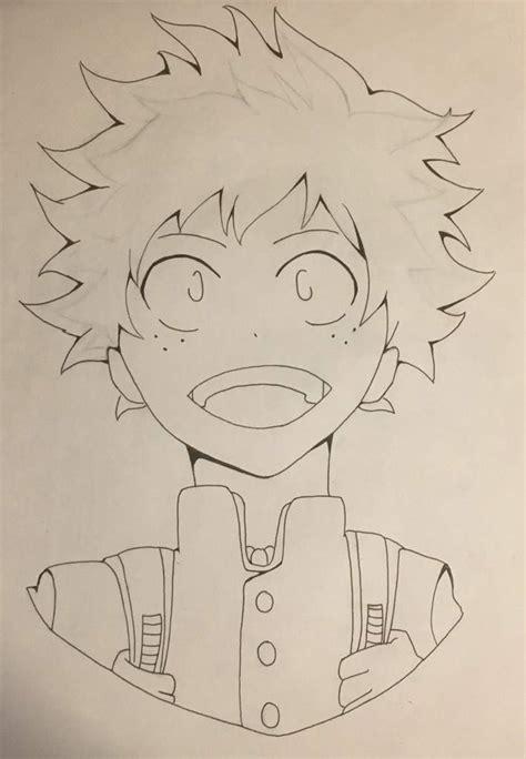 My Hero Academia Deku Drawing Process Anime Amino