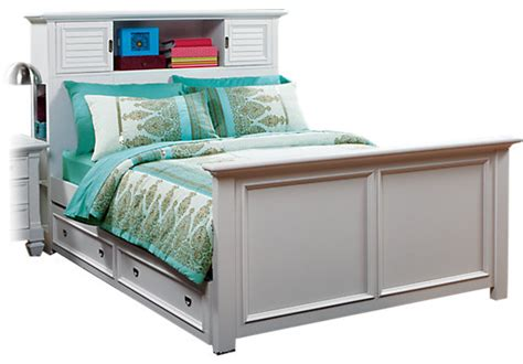 buy teenage locker twin bed dresser nightstand bedroom belmar white 4 pc twin bookcase bed w trundle