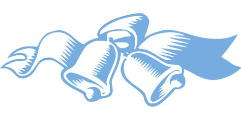Wedding Bell Blues Year by Free Vector Graphic Bells Church Blue Wedding Free