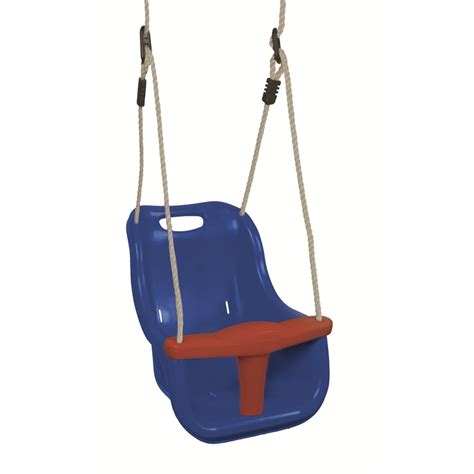bunnings swings swing slide climb blue baby swing seat i n 3320774