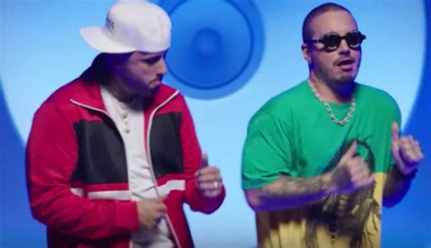 nicky jam and j balvin nicky jam j balvin s x is a monster song but the