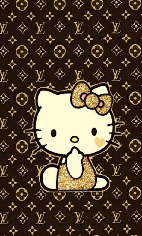 Hello Kitty Louis Vuitton Wallpaper | iphone wall hk tjn iphone walls 3 pinterest hello