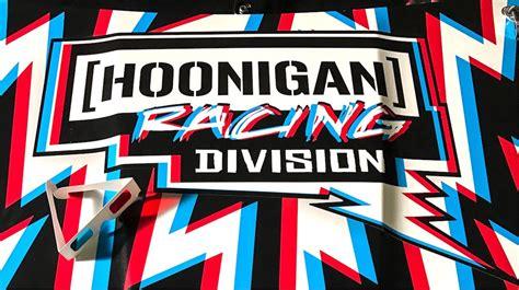 hoonigan racing logo ken block s hoonigan racing reveals its new focus rs rx