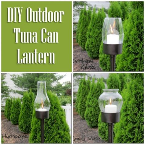 tuna can diy lantern diy for