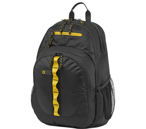 Hp 15 6 Sport Backpack F3w18aa buy hp sport 15 6 laptop backpack black yellow free