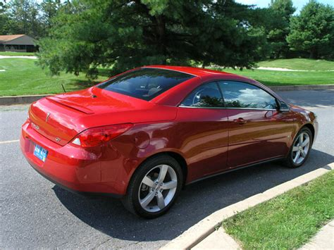 Pontiac Hardtop Convertible by 2007 Pontiac G6 Retractable Hardtop Convertible Road Test